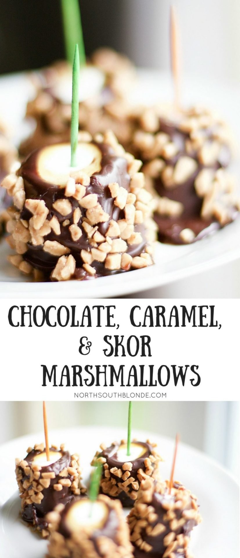 caramel chocolate skor marshmallows
