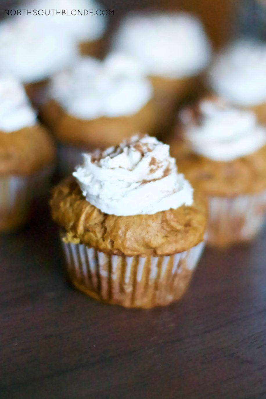 Gluten-free Pumpkin Cupcakes