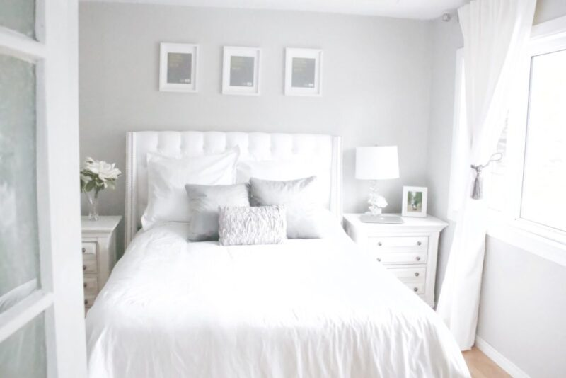 French Country Farmhouse Master Bedroom Update