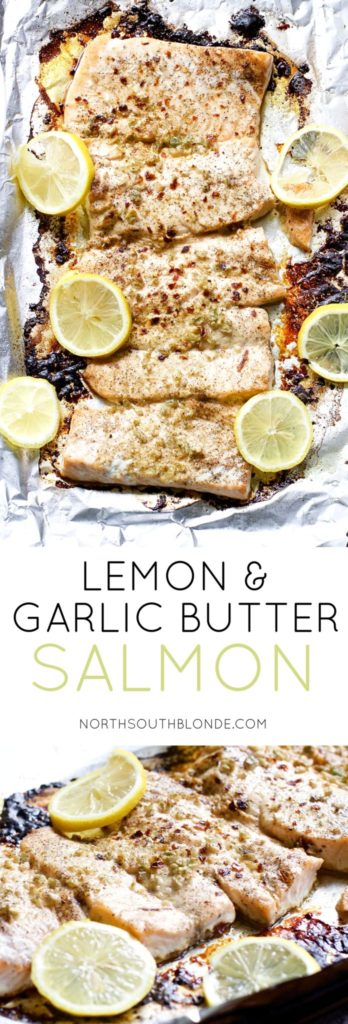 Lemon and Garlic Butter Salmon is extremely tender and moist, baked in foil, with an explosion of mouthwatering flavours. A dinner that takes only 15 minutes to make and full of superfood nutrients.