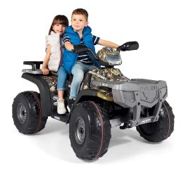 The Polaris Sportsman Is Pretty Badass For You Little Ones It S Sy Rugged And Can Go All Way Up To 7 Km Hour Explorer Also Made Number