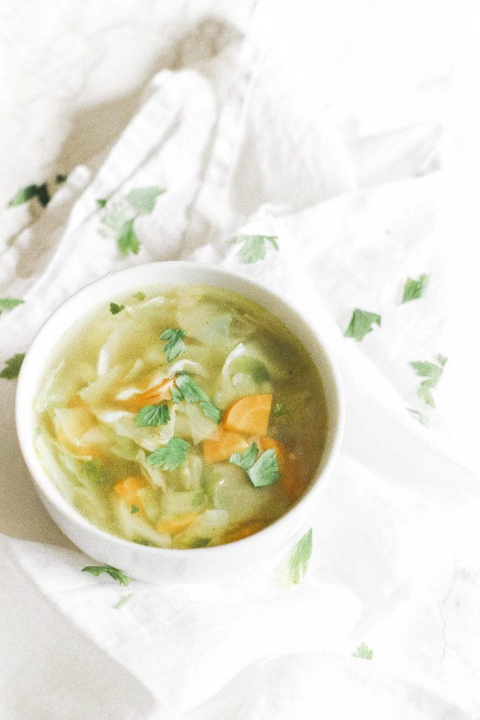 A cabbage soup that's simple, low carb, low calorie, and powerful for weight loss. Enjoy it's endless health benefits and watch the weight melt off. Detox soup   Superfood   Weight Loss   Lose Weight   Health   Fasting   Ketogenic   Keto   Dinner   Lunch   Diet   Soup Diet   Plant Based   Vegan   Vegetarian   Healthy   Easy   Quick   Fat Loss Recipe   Paleo   Whole 30   Gluten-Free  