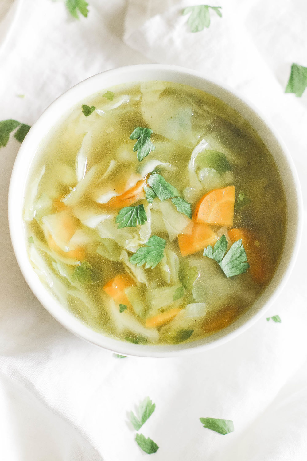 How to make basic cabbage soup diet