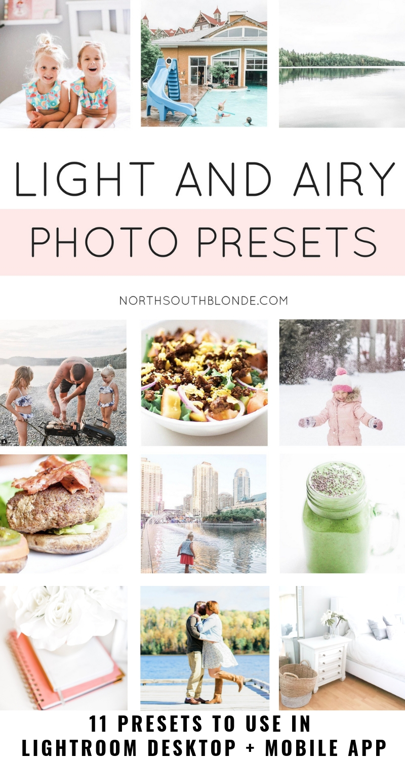 My secret to editing light and airy photos is using my own custom Lightroom presets (filters) and applying them to every photo for creating a consistent, clean look. For lighter, brighter, and whiter photos! Recommended for photographers, bloggers, entrepreneurs, businesses, web designers, social media strategists, marketing, & branding.