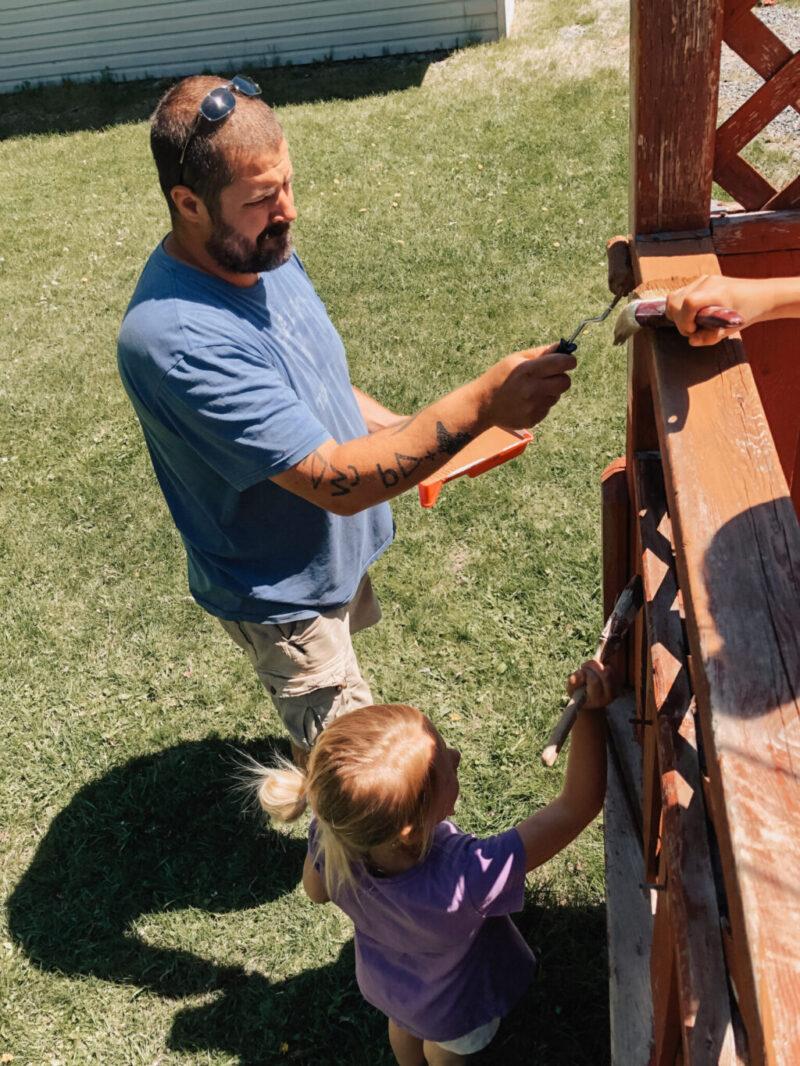 10+ Ways to Create an Outdoor Backyard Oasis - Deck Reno Reveal