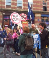 Pictures from Save Our NHS march