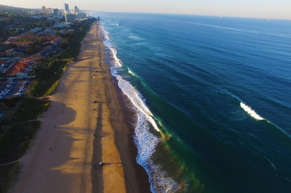 Helicopter Tours with the North Star Hotel, Umhlanga