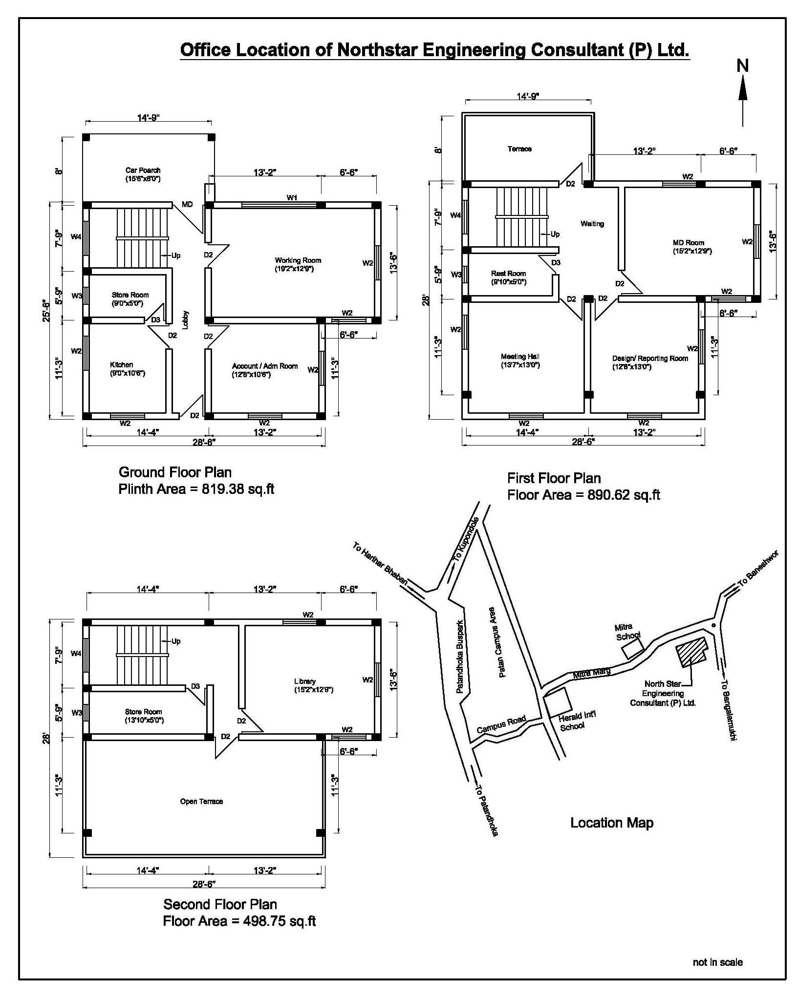 Engineering Office Layouts