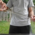 Simple Science Experiments: Pouring Water Down a String