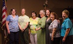 Red Bluff Soroptimist club Board of Directors.