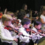 Strings in Schools – Violin, Flute and Kindermusik in the North State