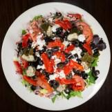 North State Pizza Greek Salad