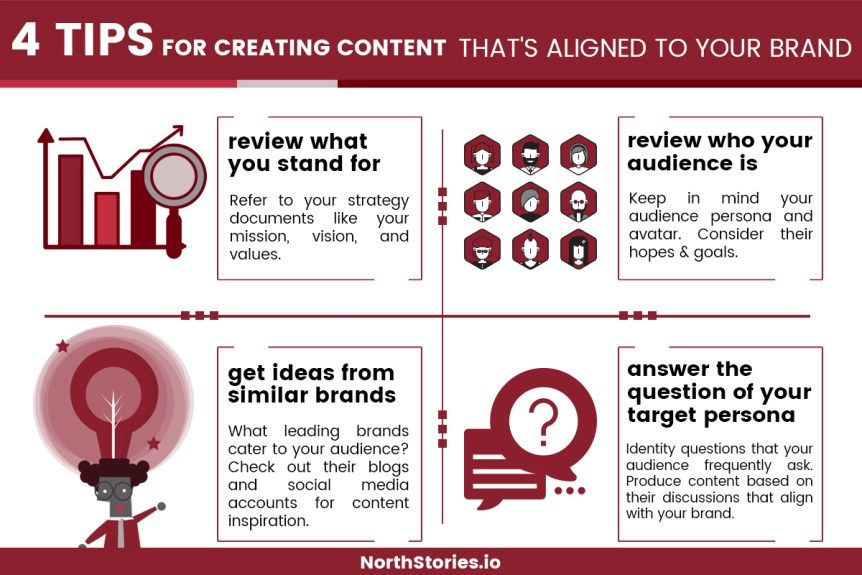 4 Tips for Creating Content That's Aligned with Your Brand