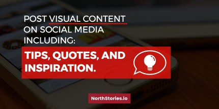 Post visual content on social media