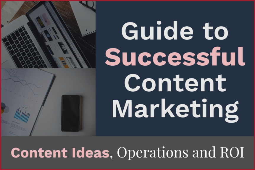 Guide to Successful Content Marketing: Content Ideas, Execution, ROI