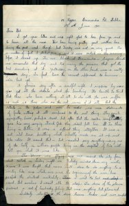 Dermot Moran Letter page 1