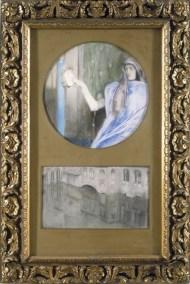 Fernand Khnopff, Secret-Reflet, 1902. Groeningemuseum, Bruges.