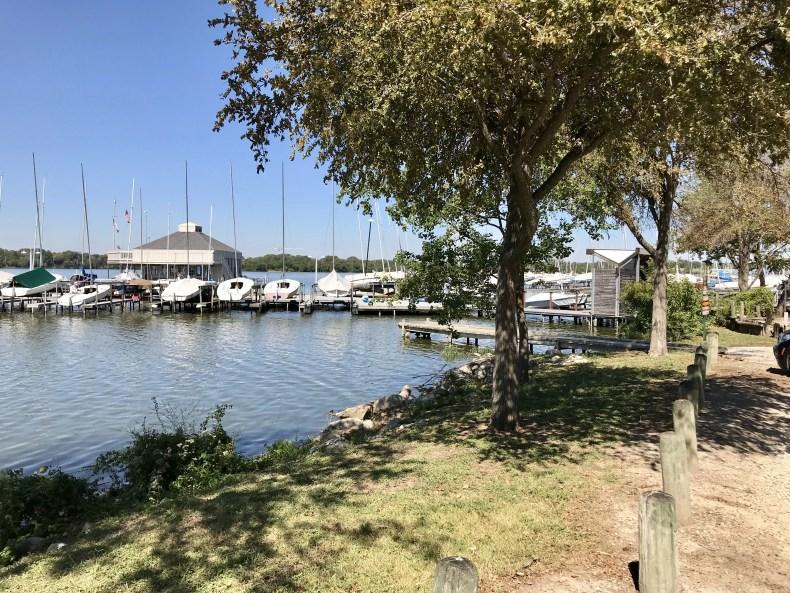 White Rock Lake: Marina