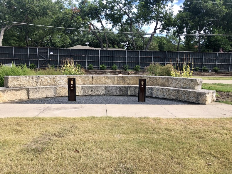 Northaven Trail: Sitting Area