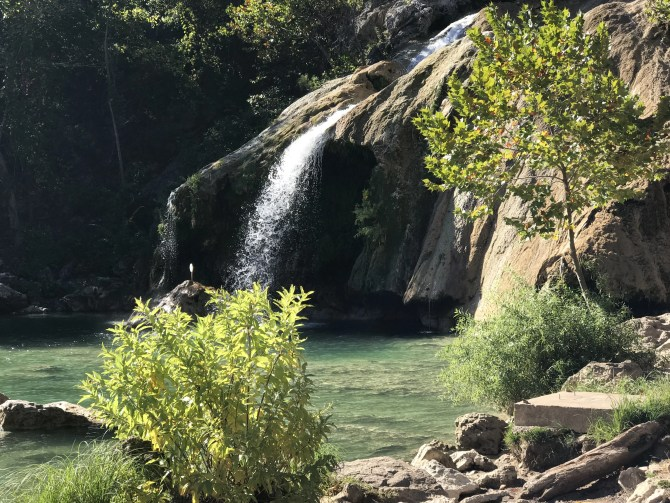 Turner Falls: View of the Falls