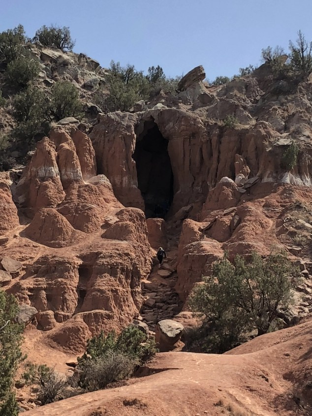 Cave at Palo Duro Canyon State Park
