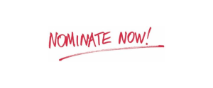 Red marker spelling out Nominate Now!