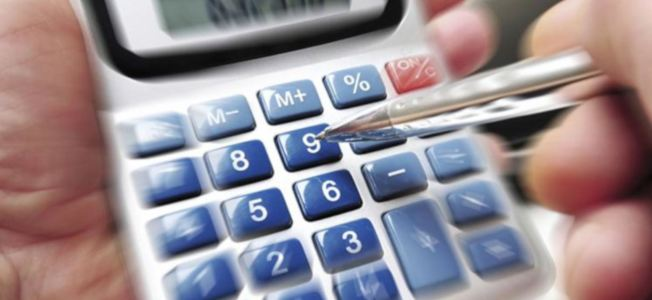 Calculator Graphic for Tax Information
