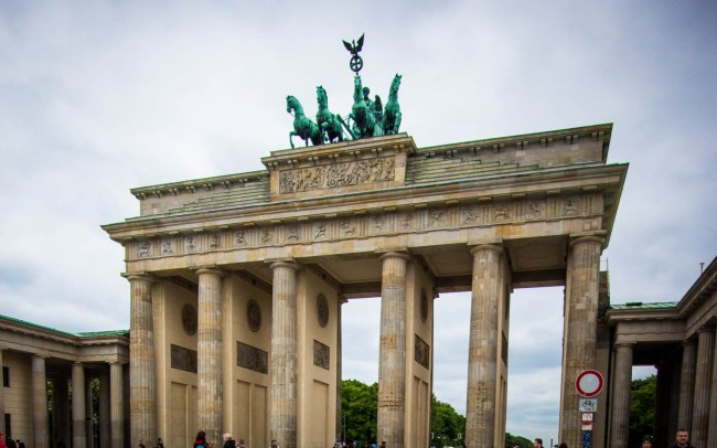 Brandenburg Gate, Berlin, Germany on northtosouth.us