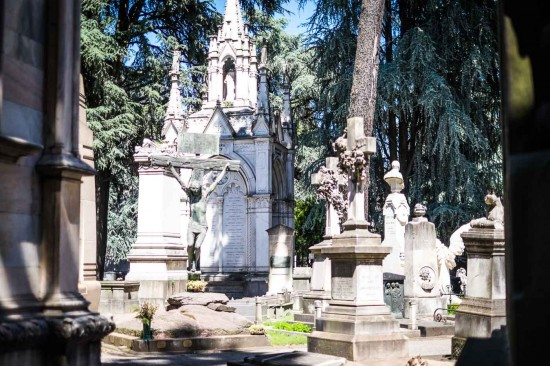 Monumental Cemetery, Milan, Italy on northtosouth.us