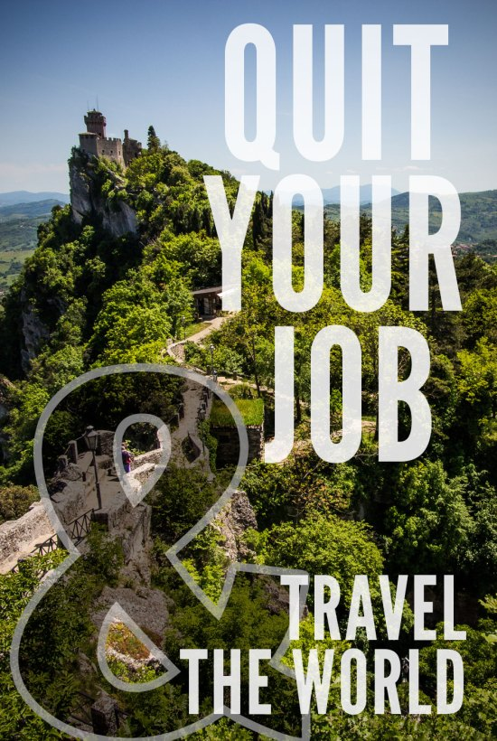 Quit Your Job and Travel the World on northtosouth.us
