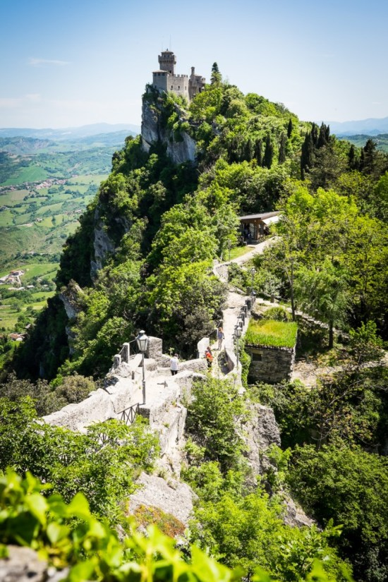 Cesta tower, San Marino on northtosouth.us