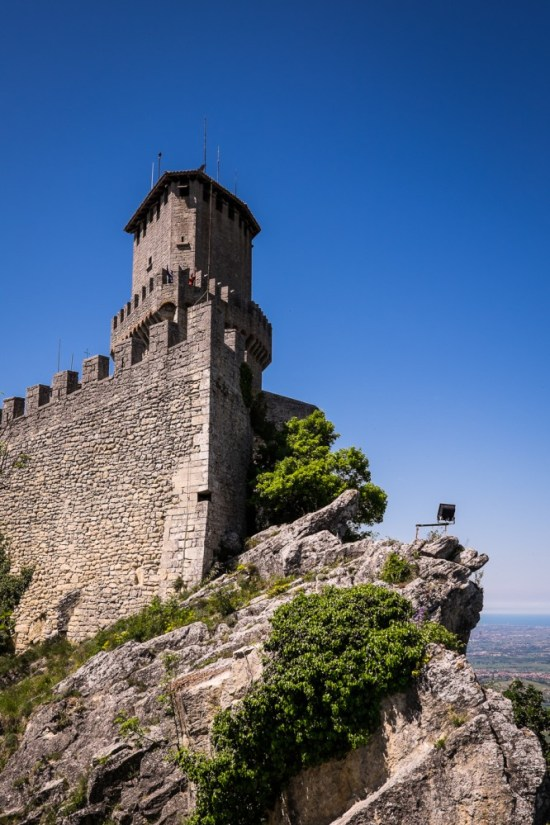 Guaita tower, San Marino on northtosouth.us