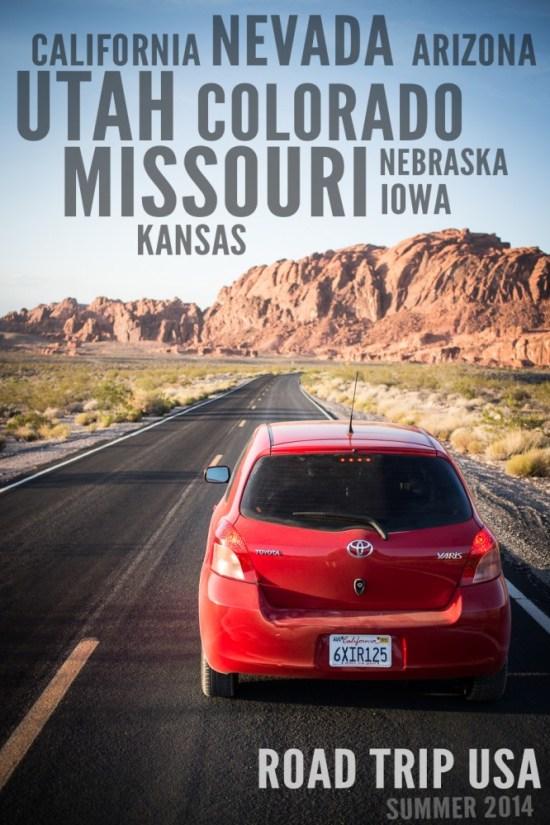 Road Trip USA: Nevada, Utah, Colorado, and Missouri on northtosouth.us