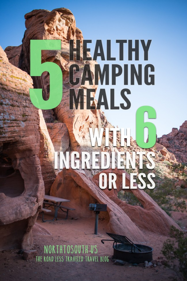 5 Healthy Camping Meal Ideas with 6 Ingredients or Less