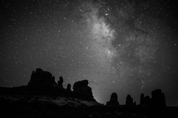Milky Way at Arches National Park, Utah, USA on northtosouth.us