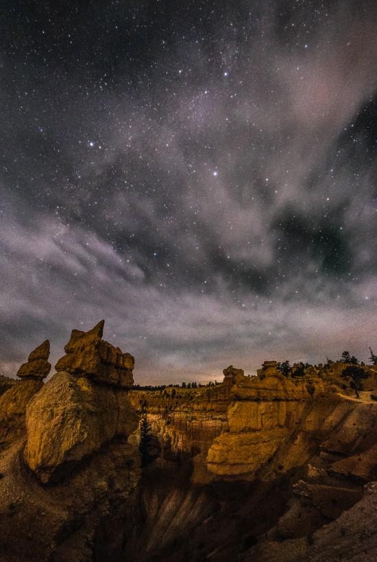 Bryce Canyon National Park, After Dark, Utah, USA on northtosouth.us