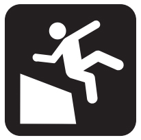 Long Drop-Offs Icon