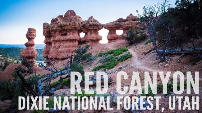 Red Canyon, Dixie National Forest, Utah on northtosouth.us
