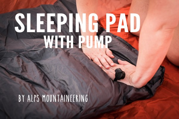 ALPS Mountaineering Sleeping Pad with Pump on northtosouth.us