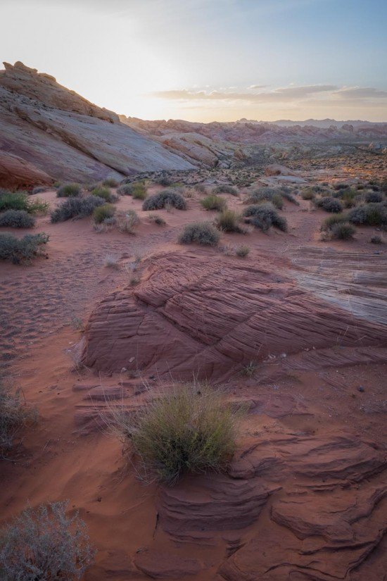 Valley of Fire State Park on northtosouth.us