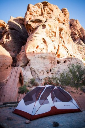 Atlatl Campground at Valley of Fire State Park on northtosouth.us