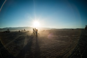 Bike Ride, Burning Man 2014: In Dust We Trust - Photos of a Dusty Playa