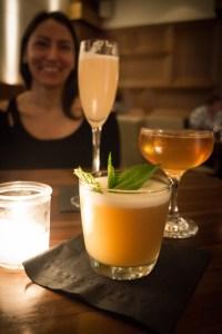 Cocktails at Veneto in Victoria, BC
