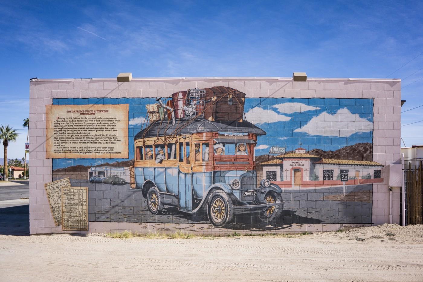 Desert Street Art 20 Paintings In Twentynine Palms An