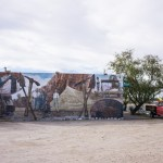 desert mural in Twentynine Palms, California