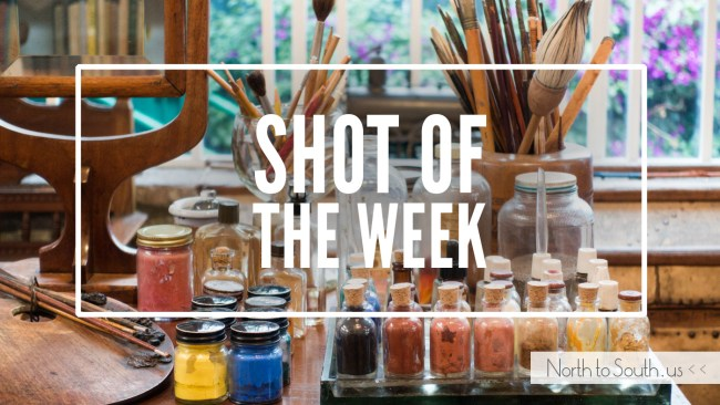 Shot of the Week: Frida Kahlo Paints (Casa Azul, Mexico City, Mexico)