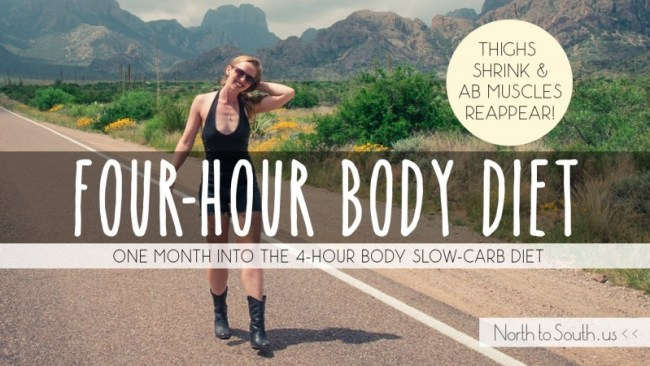 4-Hour Body One Month Results: Shrinking Thighs and Reappearing Abs on the Slow-Carb Diet