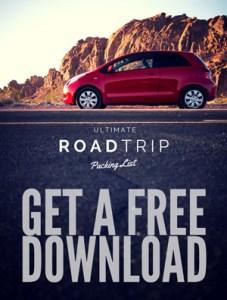 Free road trip packing checklist PDF download