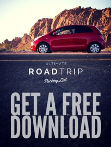 Free road trip packing checklist PDF download