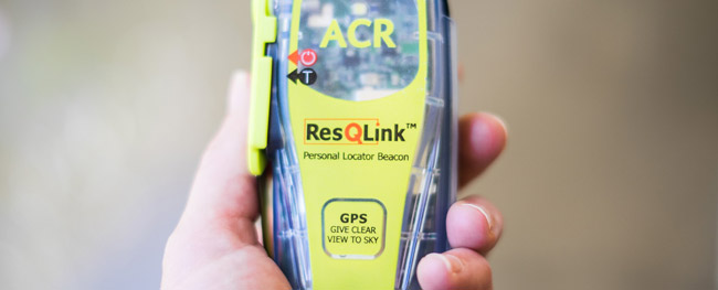 ResQLink personal locator beacon